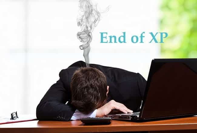 End of XP Support