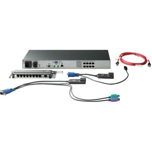 HP Server Console KVM Switch
