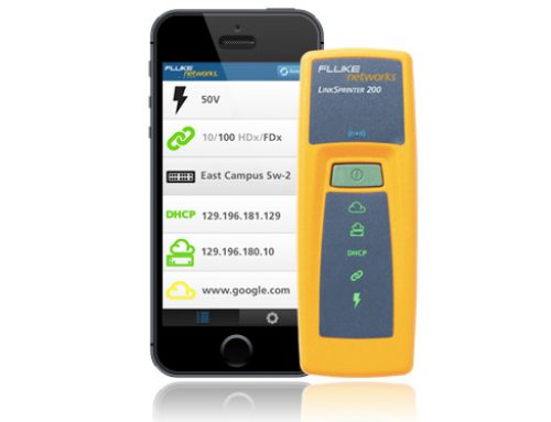 Cloud-enabled Ethernet tester from Fluke Networks