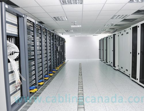 Different type of cabling racks